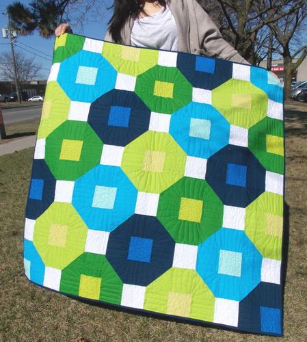 Busy Blocks - Baby Quilt Kit