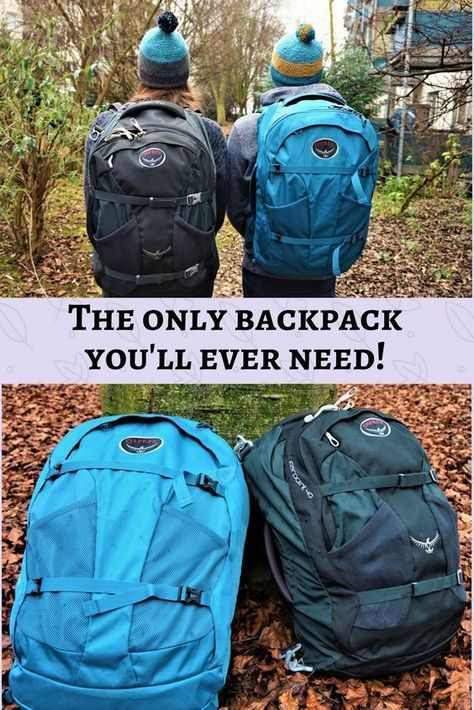 925829b1f39 Best carry-on sized backpack- Osprey Farpoint 40   Backpack gear ...