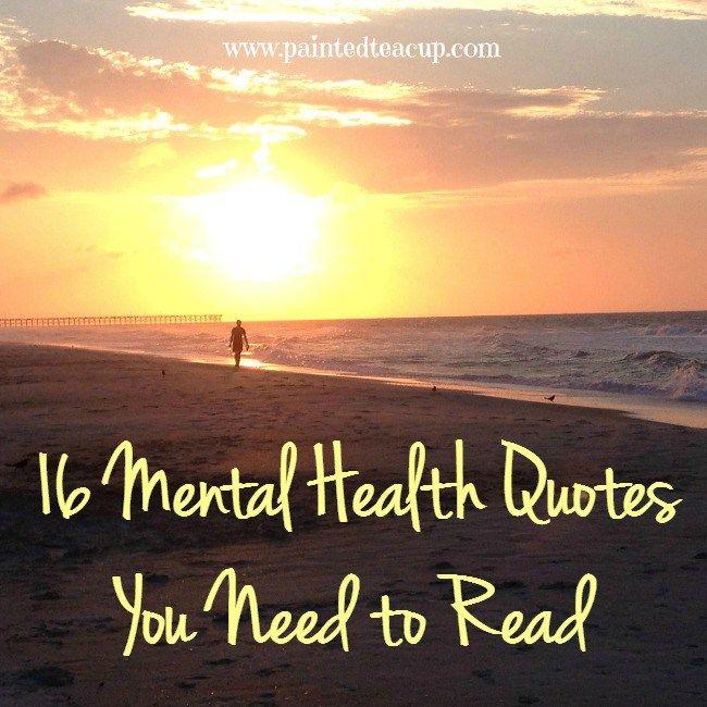 Mental Health Quotes: Best 25+ Mental Health Week Ideas On Pinterest