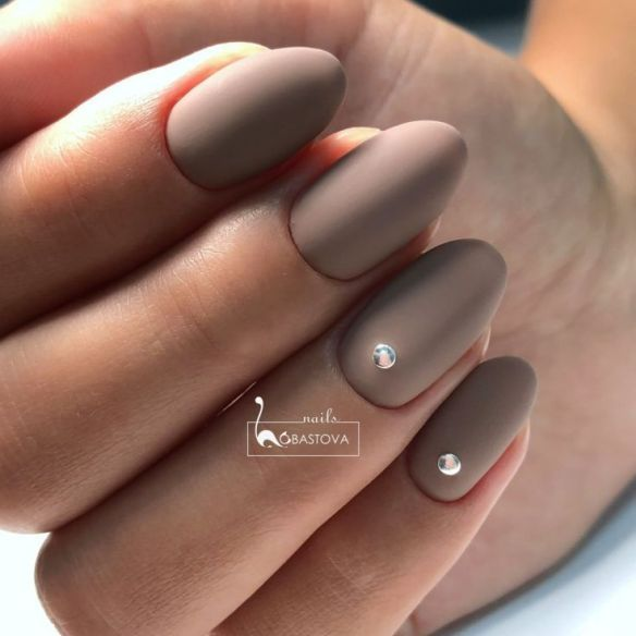 40 Gorgeous Beige Nail Designs Isishweshwe Beige Nails Beige Nails Design Matte Nails