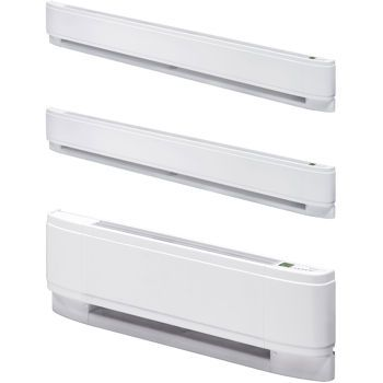 Dimplex Wireless Wall Thermostat Kit and 3-pack Baseboard Heaters
