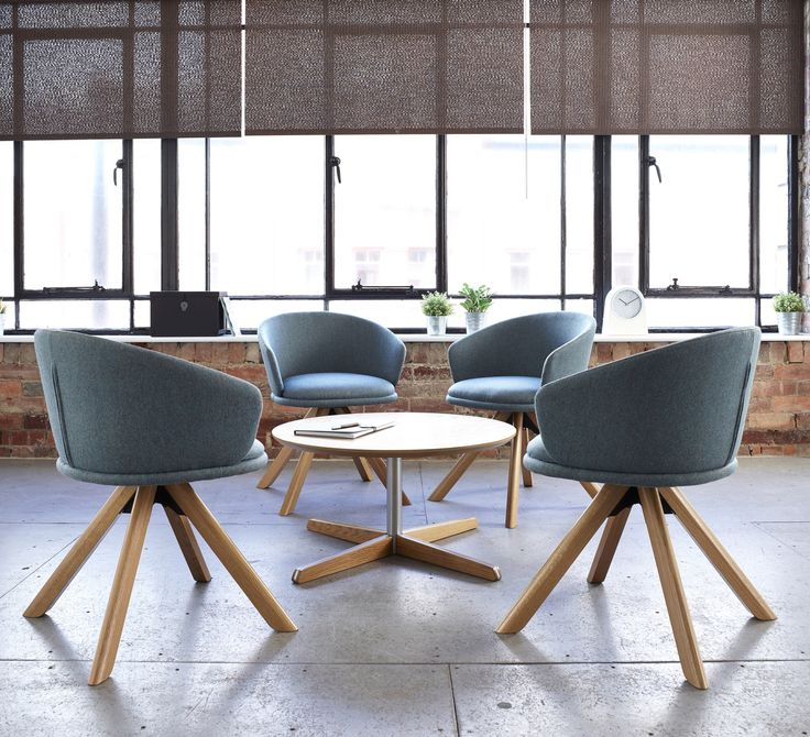 Bebop Pyramid Occasional Tub Chairs designed by David Fox Design for Knightsbridge Furniture are great for providing style and comfort to workplace, corporate and hospitality environments