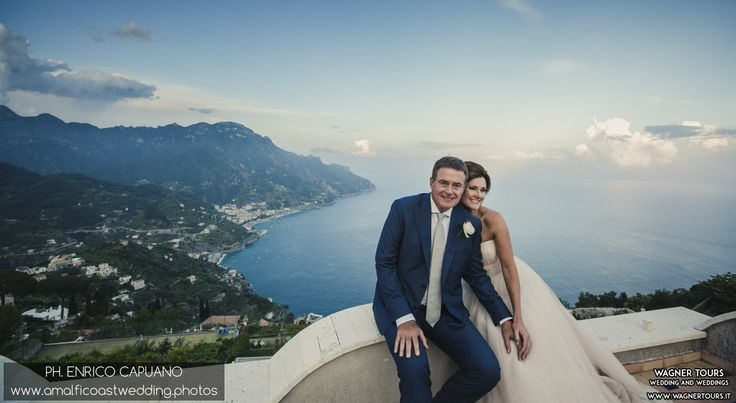 wedding in ravello amalfi coast italy by mario Capuano the local wedding planner and Enrico Capuano professional wedding photographer