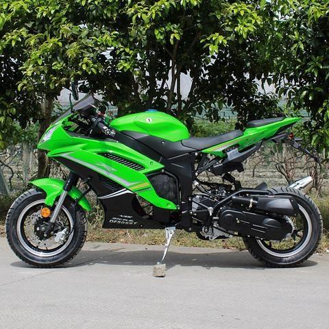 2018 Super Ninja 50cc Super Pocket Bike ZXR6 - Fully Automatic