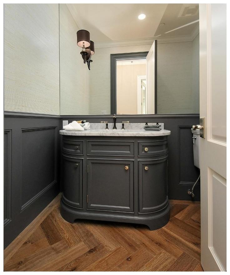 Porter Vanity On Harbour Creek By Trunk Bathroom Pinterest Herringbone Vanity Units And
