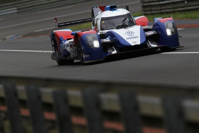 at least one Nissan V8-powered SMP Racing BR01 LMP2s from the FIA World Endurance Championship (BELOW) is expected to race at Daytona and Sebring.