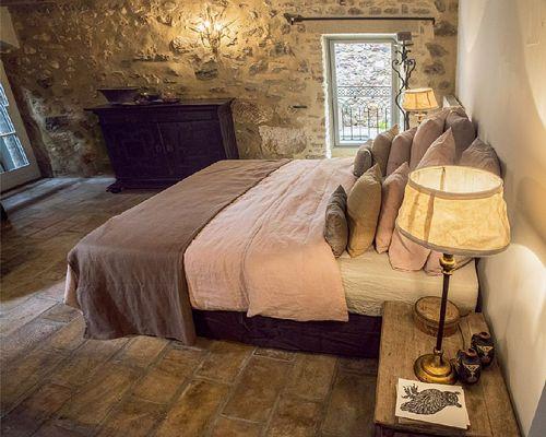 Dormitorio de la casa rural