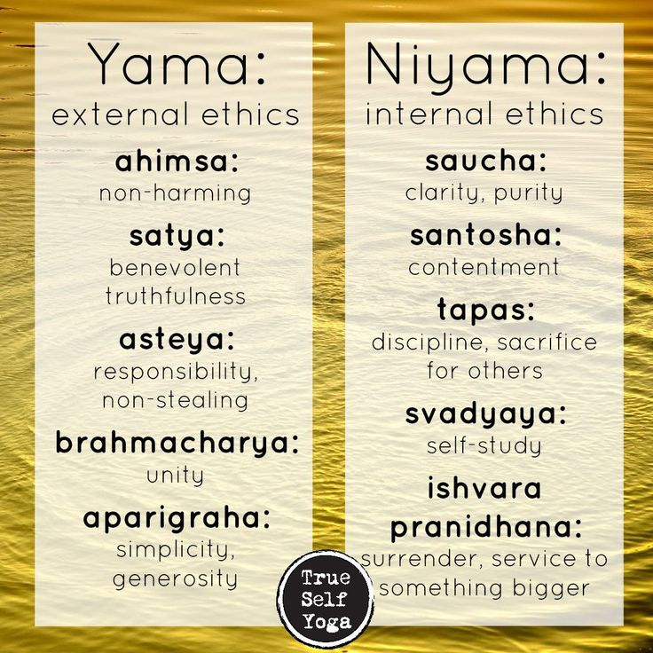 Yoga principles to help guide our daily choices that affect us and the people around us, so that we can live happy and healthy:)