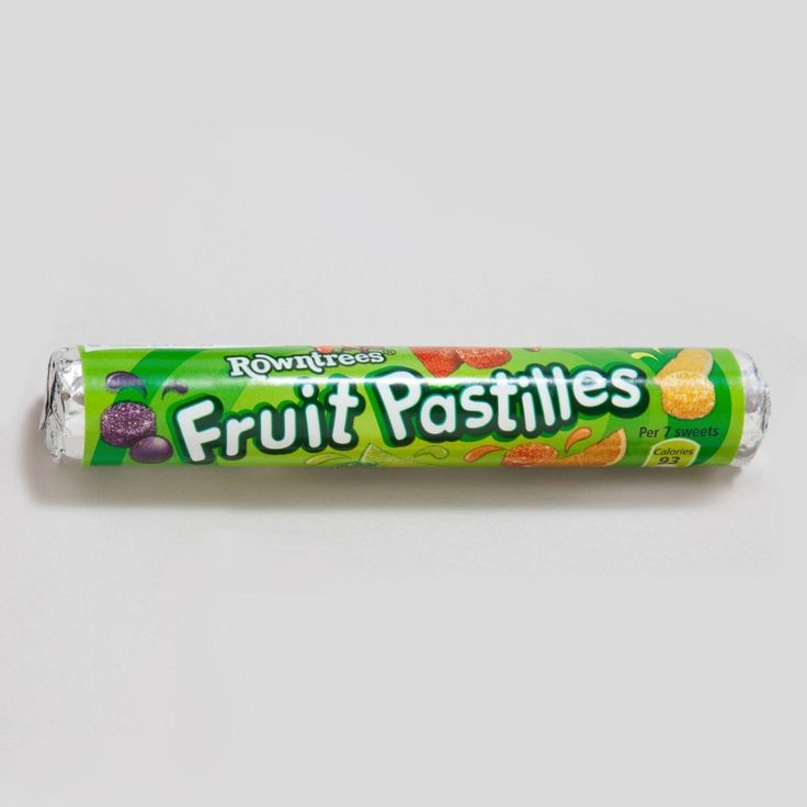 Rowntree Fruit Pastilles 52.5G (Pack Of 12) Free Shipping To The Usa
