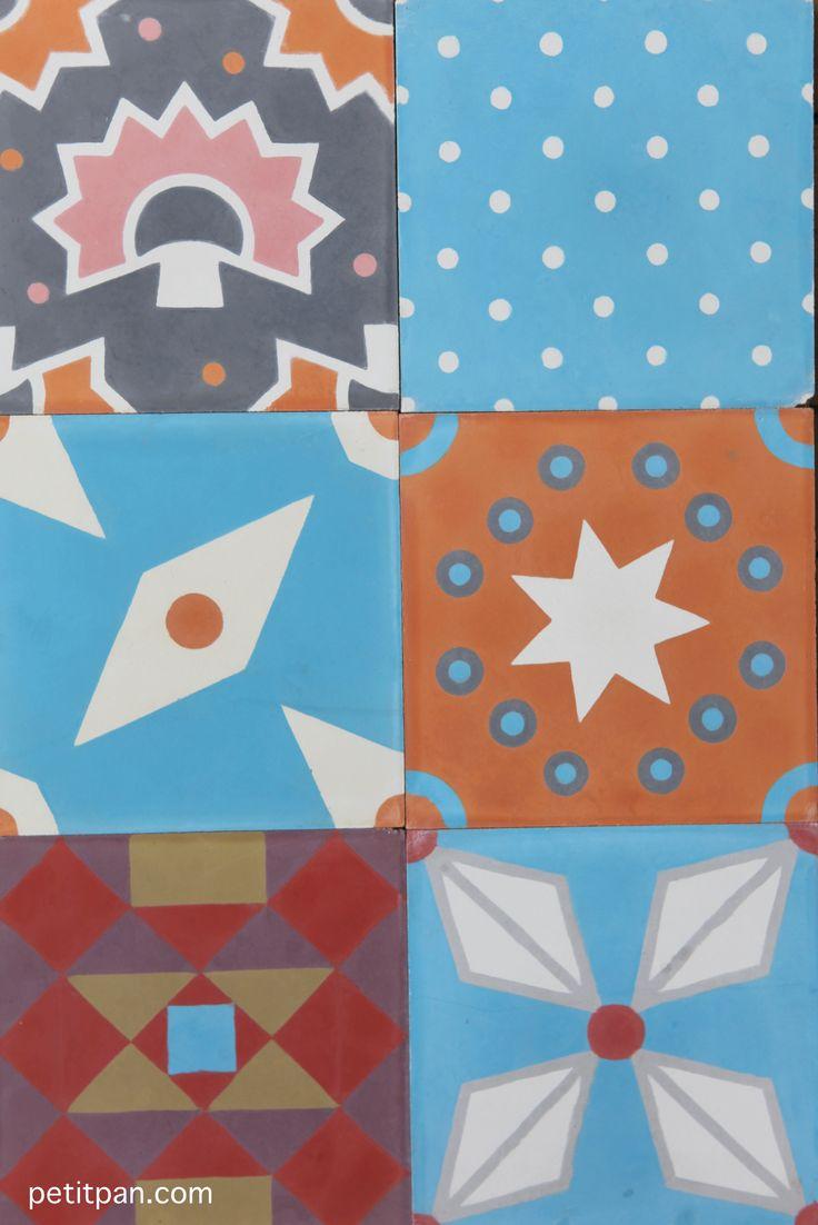 les 74 meilleures images du tableau carreaux de ciment tiles sur pinterest carrelage. Black Bedroom Furniture Sets. Home Design Ideas