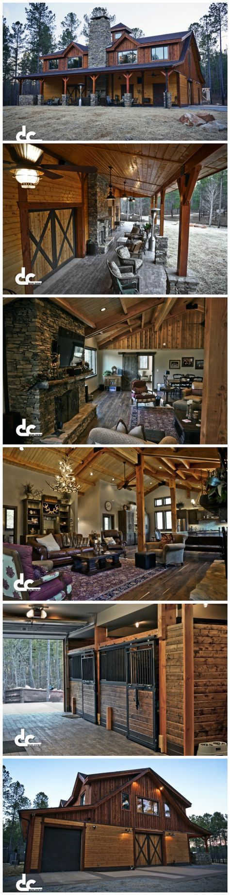 Custom Barn with Living Quarter More