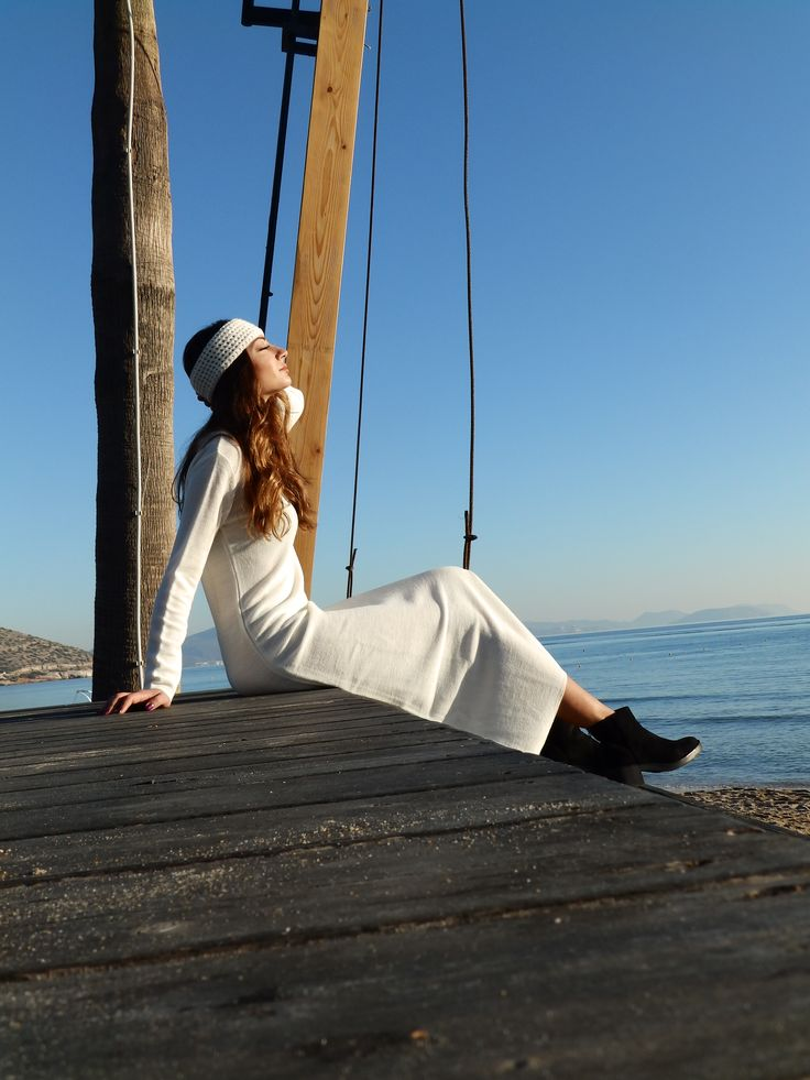 Knit Dress by Nima #greekknits #knitwear