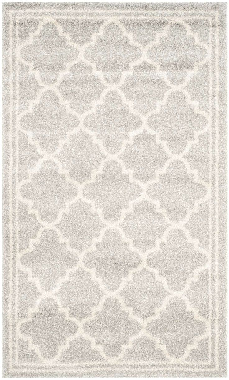 Coordinate indoor and outdoor living spaces with fashion-right Amherst all-weather rugs by Safavieh. Power loomed of long-wearing polypropylene, beautiful cut pile Amherst rugs stand up to tough outdoor conditions with the aesthetics of indoor rugs.