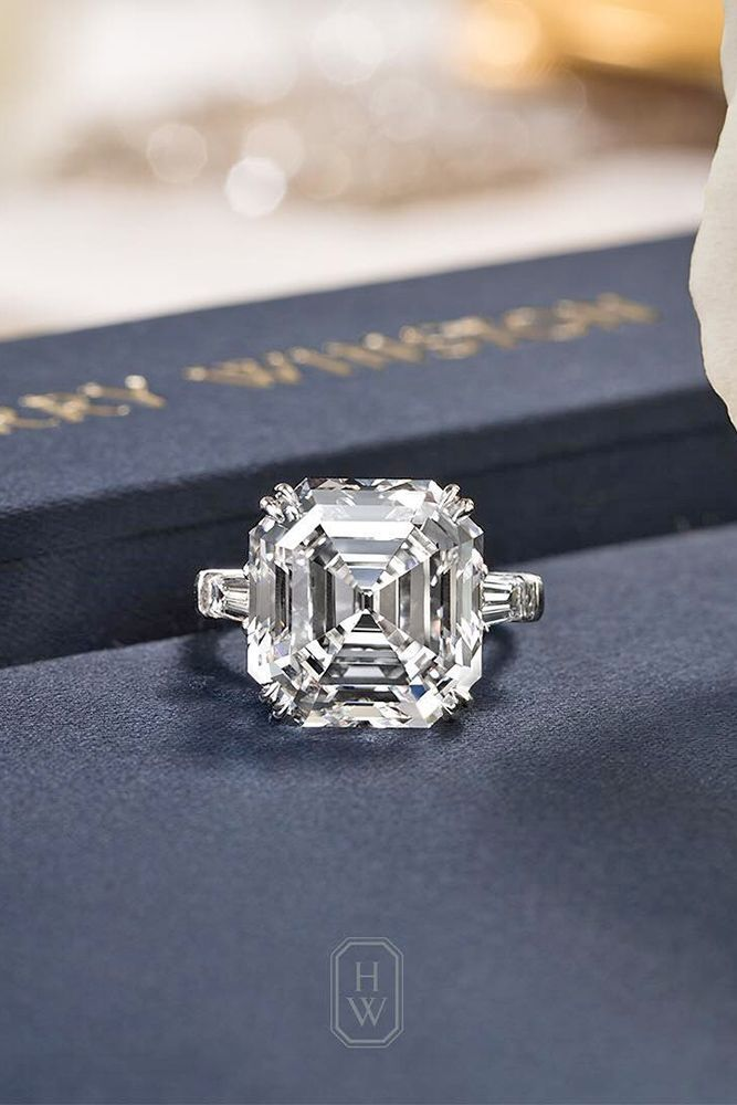 18 incredible harry winston engagement rings - Harry Winston Wedding Rings