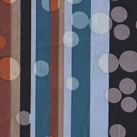 Dots/Stripes Stretch Cotton Poplin will make a fabulous spring look with...