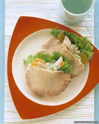 """See the """"Chicken-Salad Pitas"""" in our Kid-Friendly Lunches gallery"""