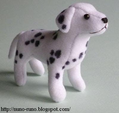 Nuno Life: Dalmatian (Free Pattern + Tutorial)