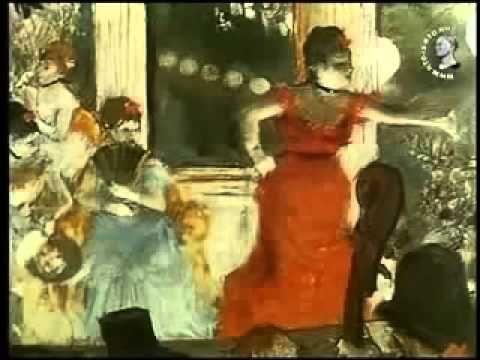 Эдгар Дега Великие художники Импрессионисты - YouTube