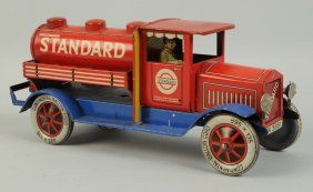 German Tin Litho Distler Standard Oil Truck.