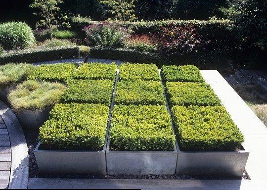 gegalvaniseerde plantenbakken ' old look '