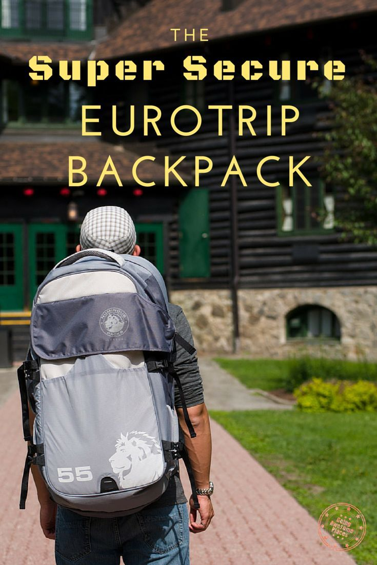 If you're in the market for a traveller's backpack that is packed with security features, tons of compartments and folds open instead of top loading, the Numinous 55L backpack might be the one for you.: