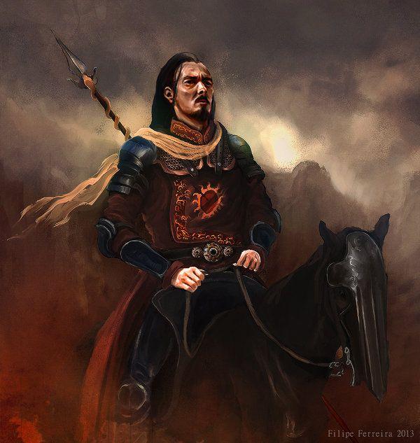"Warriors Fire And Ice Book: ""Oberyn Martell"" By Filipe Ferreira (FilipeHattori)"