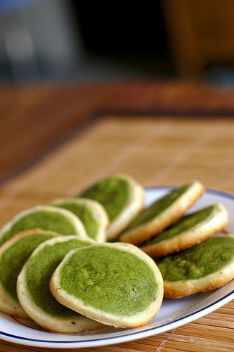 Another batch of matcha cookies by Fresh From The Oven