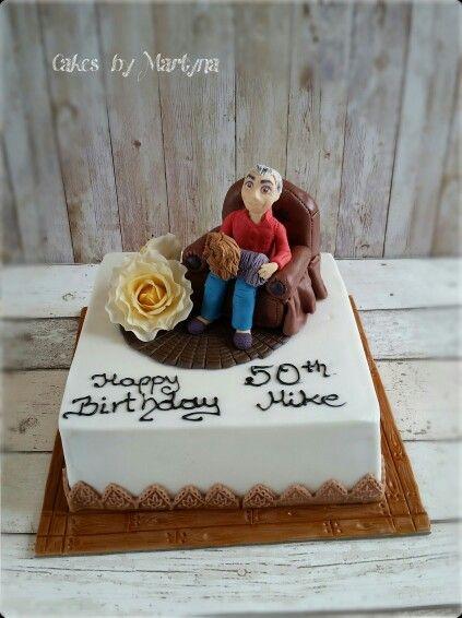 50th birthday cake for man