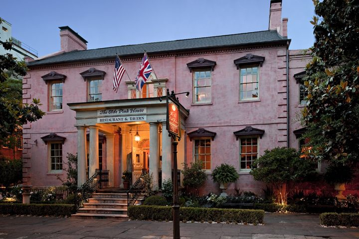 A recommendation from Twitter followers - the Olde Pink House in Savannah, GA