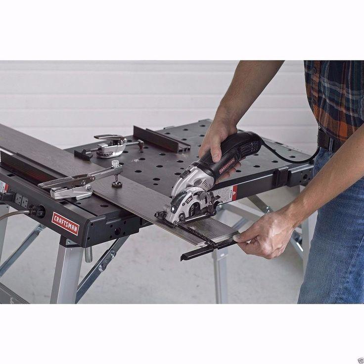 Versatile Tool Craftsman Portable Peg Clamping Workbench Folding Work Table Gift #Craftsman