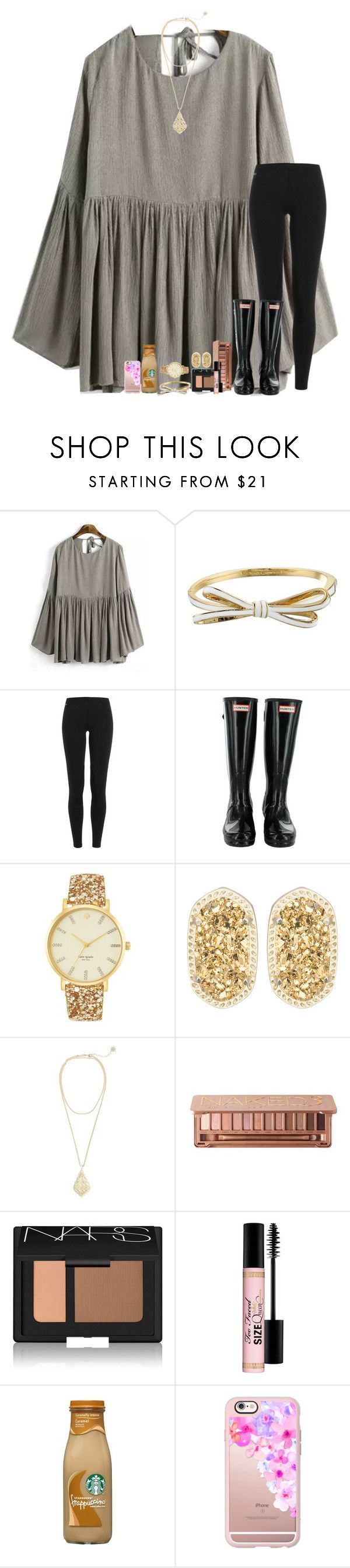 """Took my love to wreck it all"" by stripedprep ❤ liked on Polyvore featuring Kate Spade, Polo Ralph Lauren, Kendra Scott, Urban Decay, NARS Cosmetics, Too Faced Cosmetics and Casetify"