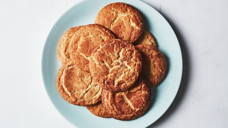 For snickerdoodle purists, follow the instructions to the letter and beat after adding eggs for the full 3 minutes, which will give you beautiful cracks on the cookie's surface as well as a cakey texture. For a chewier version, beat after adding eggs for just 30 seconds.