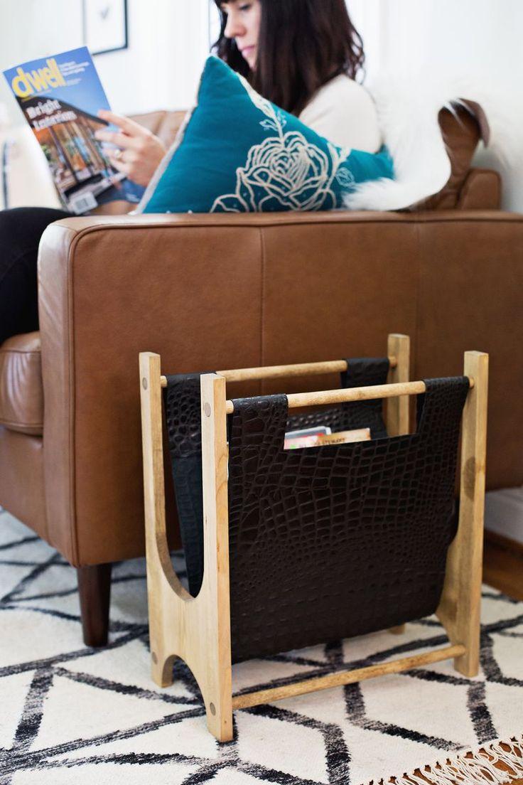 16 Tutoriales de cuero fabulosos para el hogar - DIY ™ muestra apagado - Decoración DIY y Home Improvement BlogDIY Mostrar Off ™ - Decoración DIY y Blog Home Improvement