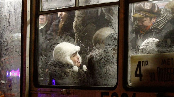 FROZEN: Moscow tram commuters in 2012. The biggest losers in Russia's gas deal with Ukrainian businessman Dmitry Firtash were Russian taxpayers. State-owned Gazprom could have made about $2 billion more from the sale. REUTERS/Mikhail Voskresensky