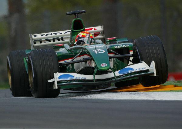 Antonio Pizzonia. Muito tempo atrás na F1.