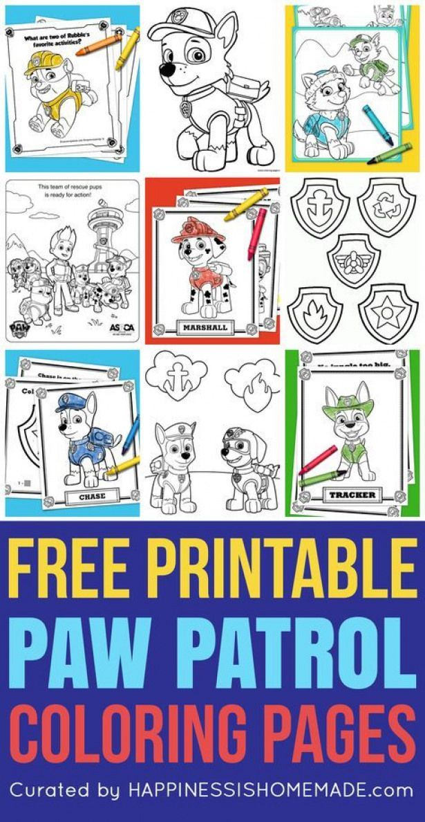 Free Printable Paw Patrol Coloring Pages Are Fun For Kids Of All Ages Love Paw Patrol You Ll Go Crazy For These Paw Patrol Coloring Paw Patrol Coloring Pages