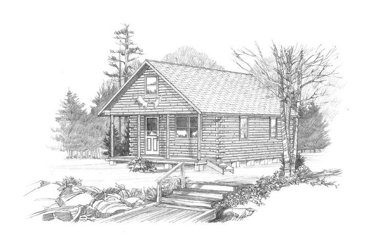 20 best Log Cabins images on Pinterest | Log cabin homes, Log cabins ...
