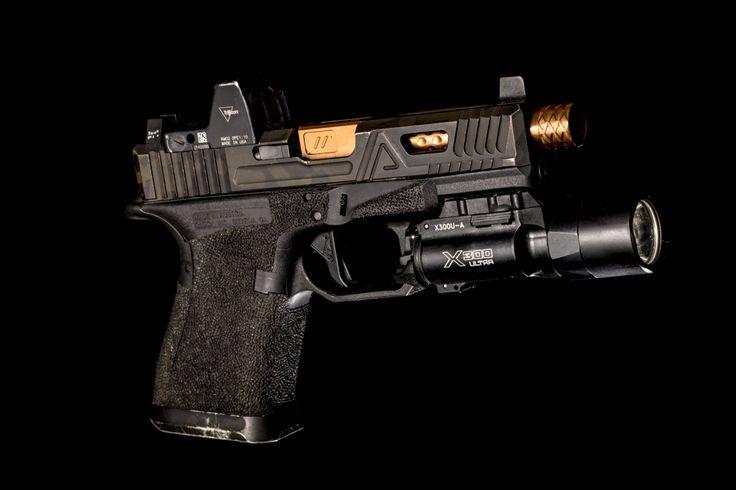 Agency Arms G19 Black Multicam Cerakote by Blown Deadline Custom
