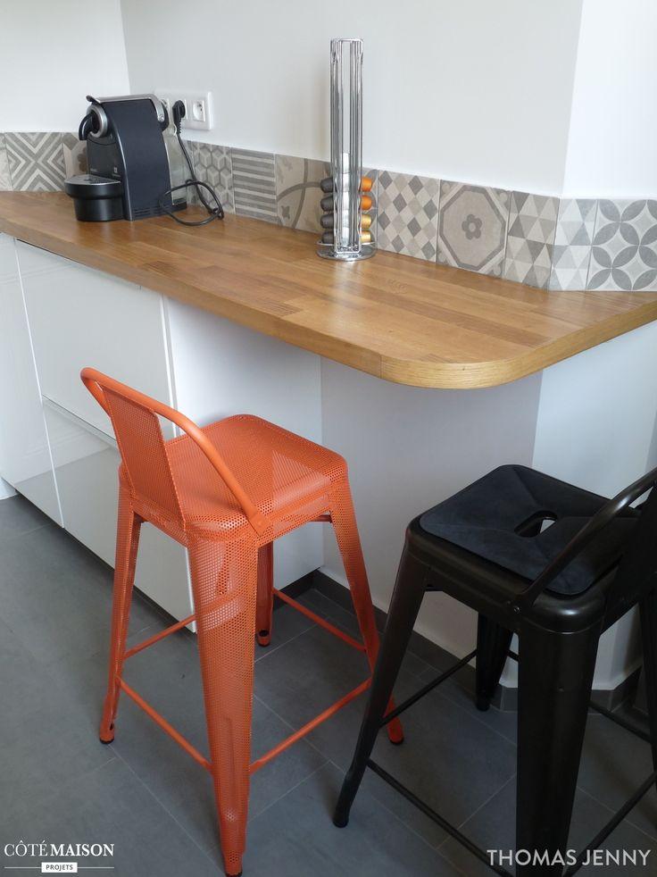 Une cuisine fonctionnelle et moderne. Esprit industrielle