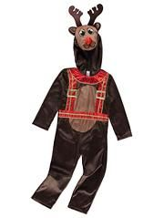 Christmas Rudolph Reindeer Fancy Dress Costume