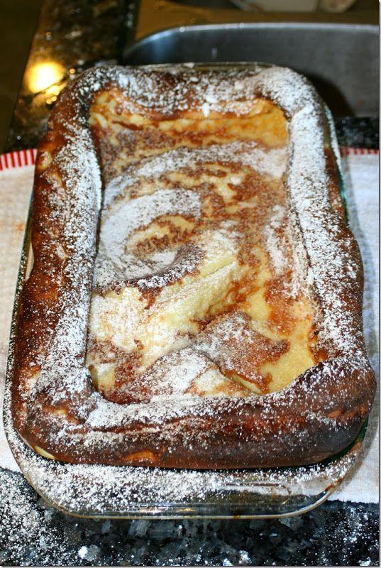 Pannukakku (Finnish oven pancake) recipe