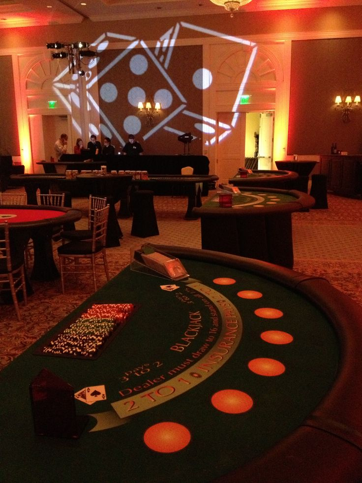 Casino Themed Event | Blackjack | Card Counting | 21 | Casinos | Gaming