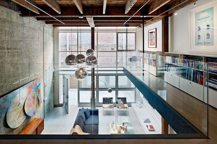 best 25 warehouse loft ideas on pinterest loft house loft apartments nyc and industrial loft. Black Bedroom Furniture Sets. Home Design Ideas