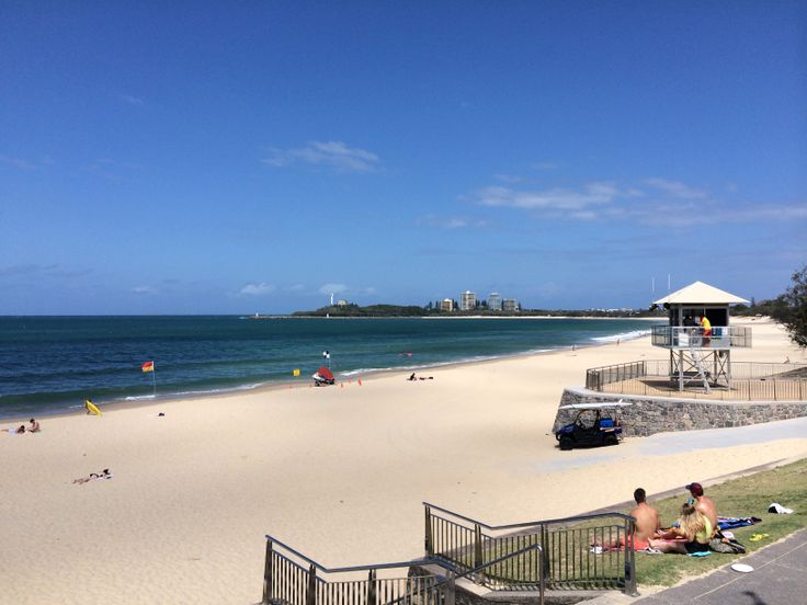 This stunning view of Point Cartwright can be seen from the open deck of the function room at The Surf Club Mooloolaba.
