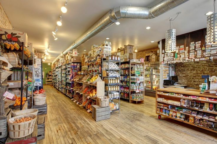 Basket displays are ideal for a neighborhood grocery store to show off their fresh produce | Specialty Store Services. See this and hundreds of other great retail store supply products at specialtystoreservices.com