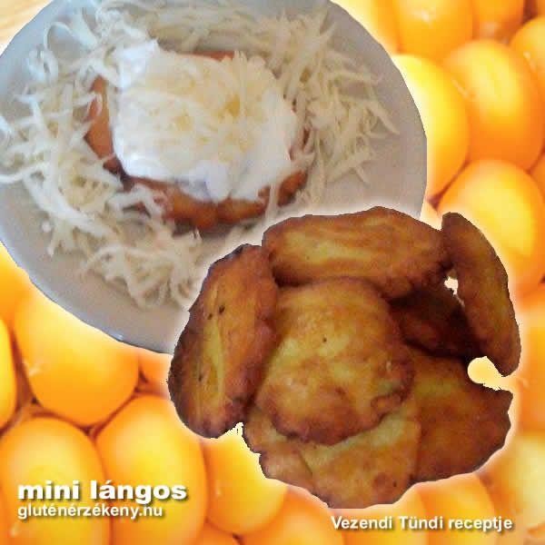 Mini gluténmentes lángos kukoricalisztből Tündi sokszor használ kukoricalisztet receptjeiben. Sokféle gluténmentes étel elkészíthető belőle és nem utolsó sorban olcsó alapanyag. Gluténmentes lángos recept