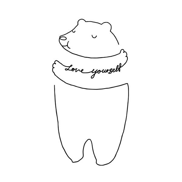 Use this Tattly to help remind yourself that you are important.