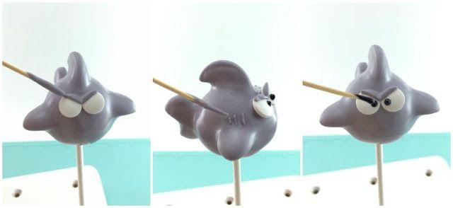 How to Make Shark Cake Pops - Pint Sized Baker