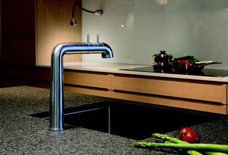 Damixa A-Pex keukenkraan design by Anders Hermansen, winnaar Interior Innovation award 2014.