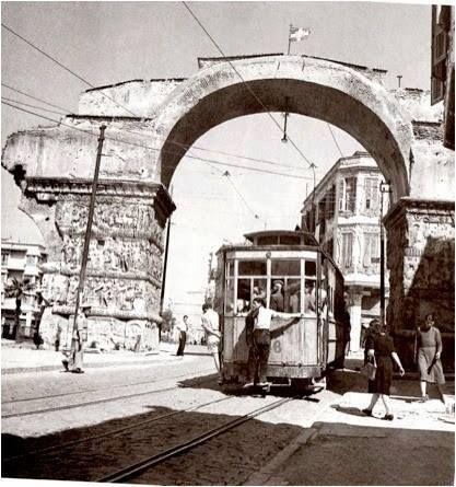 Θεσσαλονίκη αψίδα γαλερίου 1946 φωτ.Δ.Χαρισιάδης